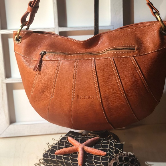 avorio Handbags - AVORIO - Italian Leather Hobo Bag